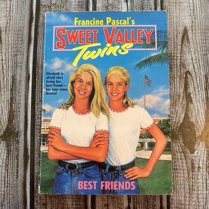 Vg Best Friends #1 SWEET VALLEY TWINS Book